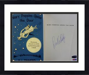 Dick Van Dyke Signed Mary Poppins Opens The Door Book PSA X07978 Auto Autograph