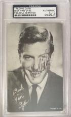 DICK VAN DYKE Signed Mary Poppins Vintage Trading Card PSA/DNA Slabbed