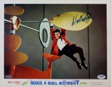 Dick Van Dyke Signed Never A Dull Moment 11x14 Lobby Card PSA Auto Y10472