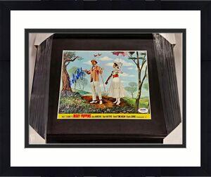DICK VAN DYKE Signed ORIGINAL Lobby Card 8x10 MARY POPPINS Auto PSA/DNA# Y10503