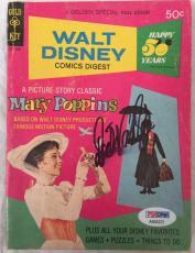 DICK VAN DYKE Signed Original Mary Poppins Disney Comics Digest Book PSA/DNA COA