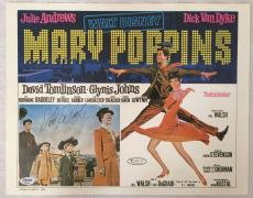 DICK VAN DYKE Signed Original Vintage 1964 MARY POPPINS 11x14 Poster PSA/DNA COA