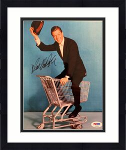 Dick Van Dyke Signed Photo PSA/DNA 8x10 Autograph Show Mary Poppins Chitty Bang
