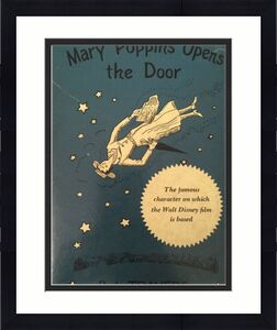 DICK VAN DYKE Signed Vintage 1943 ((c) MARY POPPINS Hardcover Book PSA/DNA COA
