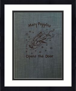DICK VAN DYKE Signed Vintage 1943 (c) MARY POPPINS Hardcover Book PSA/DNA COA