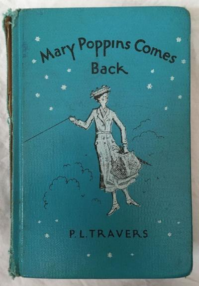 DICK VAN DYKE Signed Vintage 1963 c MARY POPPINS Hardcover Book PSA/DNA COA