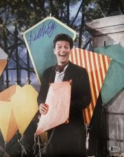 DICK VAN DYKE Signed Walt Disney Never a Dull Moment Lobby Card 15 PSA COA Proof