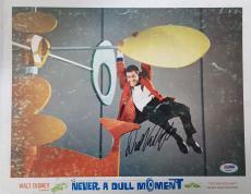 DICK VAN DYKE Signed Walt Disney Never a Dull Moment Lobby Card #2 PSA COA Proof