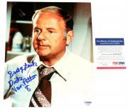 Dick Van Patten Autographed 8x10 Color Photo (eight Is Enough) Psa/dna!