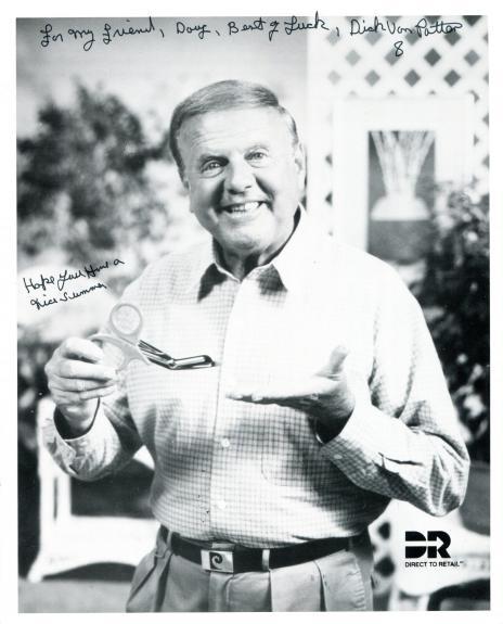 Dick Van Patton Autographed 8x10 Photo