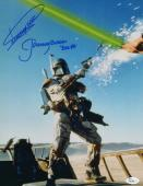 Dickey Beer Jeremy Bulloch 11x14 Photo Boba Fett Signed Autograph JSA Picture