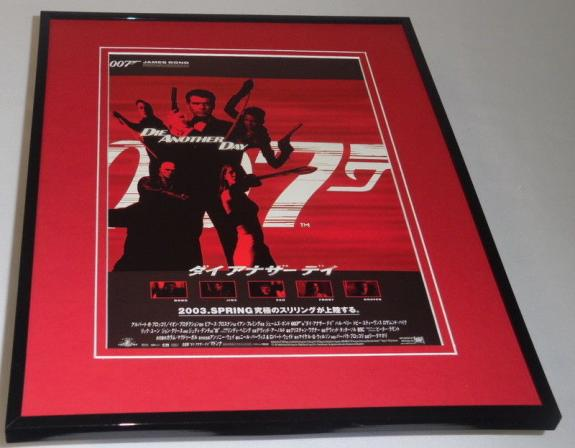 Die Another Day Japanese Framed 11x14 Repro Poster Display Pierce Brosnan