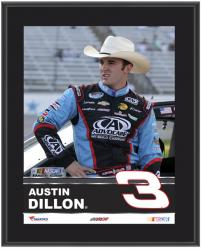 "Austin Dillon Sublimated 10.5"" x 13"" Plaque - Mounted Memories"