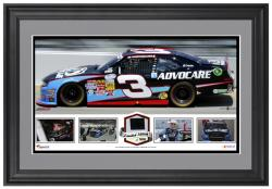 Austin Dillon Framed Panoramic with Race-Used Tire-Limited Edition of 500
