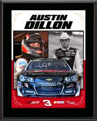 "Austin Dillon Sublimated 10.5"" x 13"" Stylized Composite Plaque"