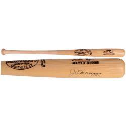 Joe Dimaggio Autographed Louisville Slugger Bat