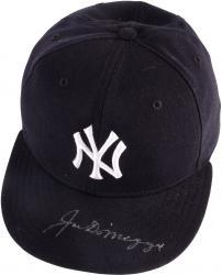 Joe DiMaggio New York Yankees Autographed Pro Model Baseball Cap