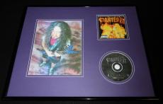 Dimebag Darrell Framed 16x20 Pantera Reinventing the Steel CD &  Photo Display