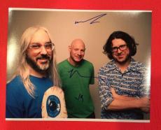 Dinosaur Jr Band Signed Autographed 11x14 Photo J Mascis Lou Barlow Murph