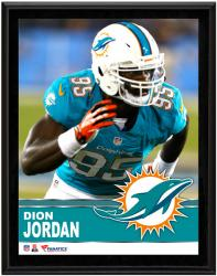 "Dion Jordan Miami Dolphins Sublimated 10.5"" x 13"" Plaque"