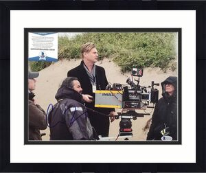 Director CHRISTOPHER NOLAN Signed 11x14 Photo DUNKIRK Auto ~ BAS Beckett COA