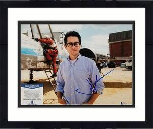 Director JJ ABRAMS Signed STAR WARS THE FORCE AWAKENS 11x14 Photo Beckett BAS