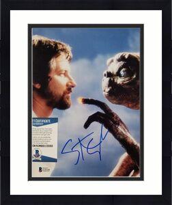 Director STEVEN SPIELBERG Signed E.T. 8x10 Photo Autograph ~ Beckett BAS COA