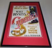 Disney Cinderella 11x17 Framed Repro Poster Display Ilene Woods