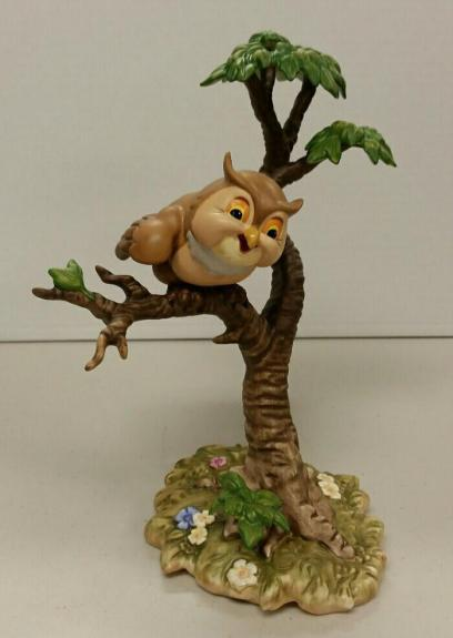"Disney Classic WDCC Bambi Friend Owl ""What's Going On Around Here"" Figure w/BOX"