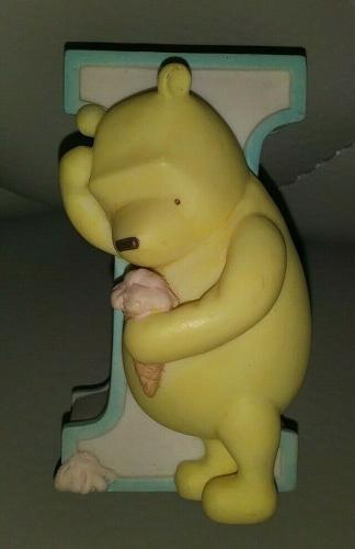 "Disney Michel & Co Classic Winnie The Pooh I ""i"" Letter Alphabet Nursery"