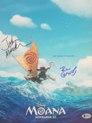 Disneys Moana Directors John Musker Ron Clements Signed 11x14 Photo Bas Coa