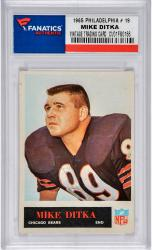 DITKA, MIKE (1965 PHILADELPHIA # 19) CARD - Mounted Memories