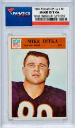 DITKA, MIKE (1966 PHILADELPHIA # 32) CARD - Mounted Memories