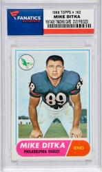 Mike Ditka Chicago Bears 1968 Topps #162 Card
