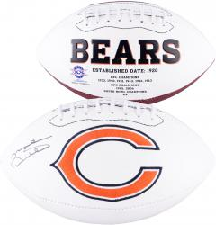 Mike Ditka Chicago Bears Autographed Logo Football