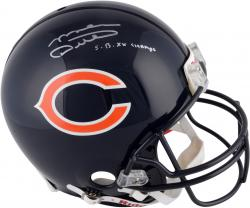 Mike Ditka Autographed Helmet - Riddell Pro Line Authentic Throwback Mounted Memories