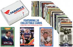 Mike Ditka-Chicago Bears-Collectible Lot of 20 NFL Trading Cards - Mounted Memories