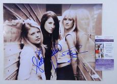 Dixie Chicks Signed 11 x 14 Photo Pose #1 3 JSA Autos