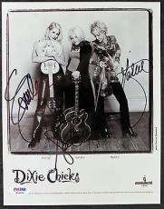 Dixie Chicks Signed Autographed 8x10 Maines Robinson Maguire Photo PSA/DNA