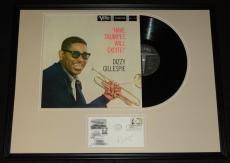 Dizzy Gillespie Signed Framed Have Trumpet Will Excite Record Album Display JSA