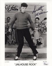 D.J. FONTANA+SCOTTY MOORE SIGNED 8x10 PHOTO    AWESOME+RARE  ELVIS PRESLEY   JSA