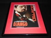 Django Unchained 2012 Framed ORIGINAL 11x14 Advertisement Leonardo Dicaprio