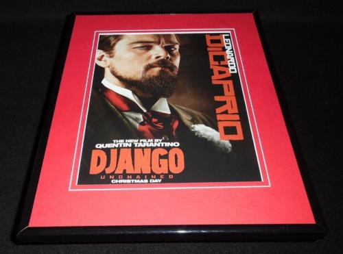Django Unchained 2012 Framed ORIGINAL 11x14 Advertisement Leonardo Dicaprio