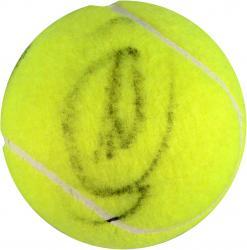 Novak Djokovic & Andy Murray Dual Autographed US Open Logo Tennis Ball