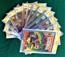 DOCTOR STRANGE CGC #168-183 (13 copies) SS STAN LEE Signed 7 Single HIGHEST