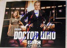 "Doctor Who"" Jenna Coleman & Peter Capaldi Signed Autograph New Poster Photo Dr."