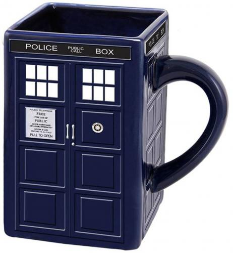 Doctor Who Tardis 20oz. Sculpteds Mug