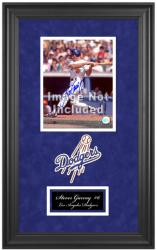 "Los Angeles Dodgers Deluxe 8"" x 10"" Team Logo Frame - Mounted Memories"