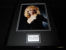 Dolly Parton Framed 11x14 Photo Display