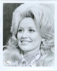 DOLLY PARTON HAND SIGNED 8x10 VINTAGE PHOTO      AWESOME+VERY RARE       JSA